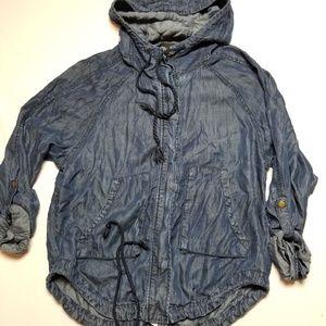 Bdg urban outfitters jacket medium fauz denim